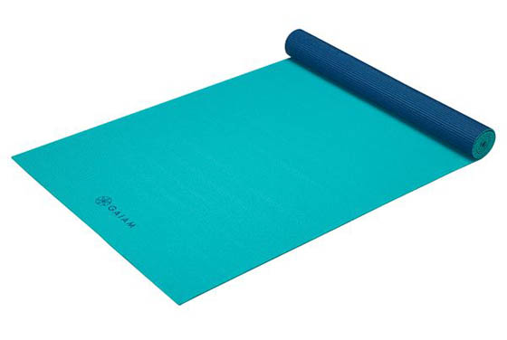 GAM-05-62199 - Gaiam Yoga Mat 4mm Open Sea Teal/Blue        (16)