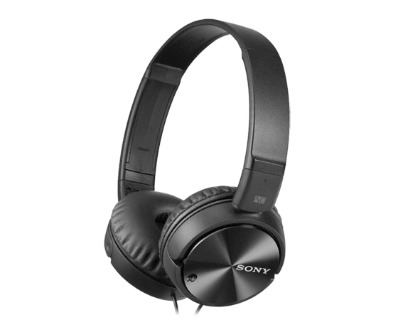 SO-MDRZX110NC - Sony Black Noise Canceling Foldable Headphones (4) +