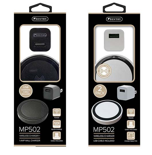 SE-MP502 - Sentry Smartphone Wireless Charging Pad / USB Pack    (12/48)