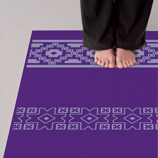 GAM-05-59273 - Gaiam 5MM Taos Alignment Printed Yoga Mat            (9)